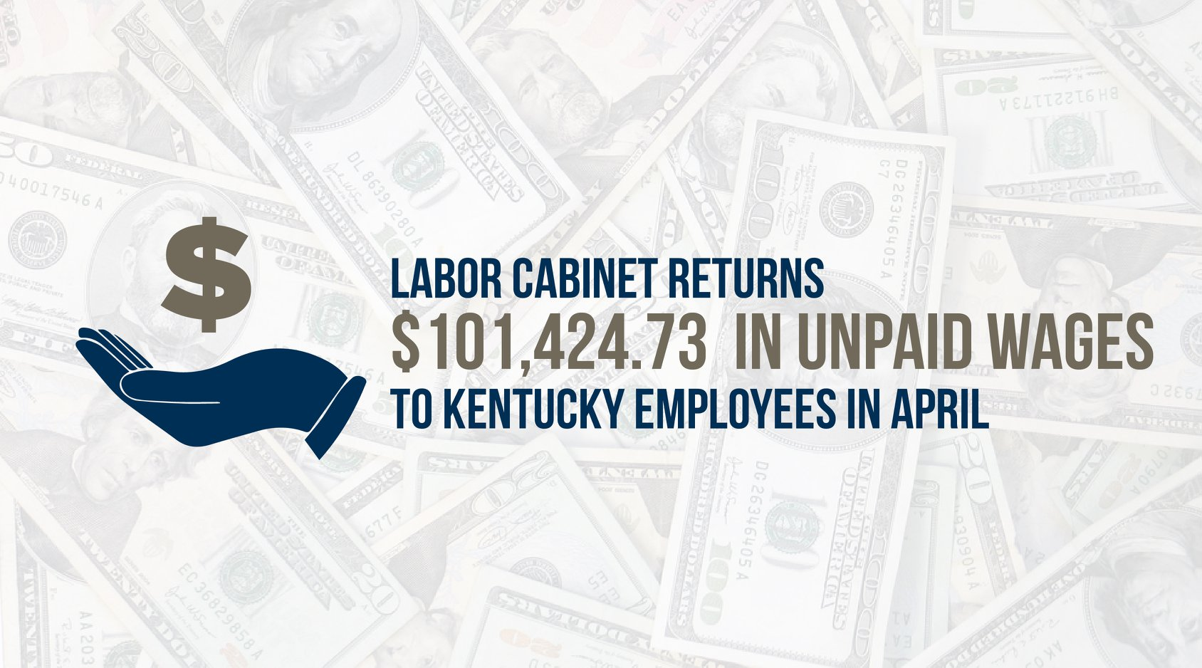 $101424.73Unpaid Wages returned to KY workers